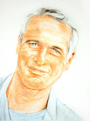 Paul Newman par Colorfarma